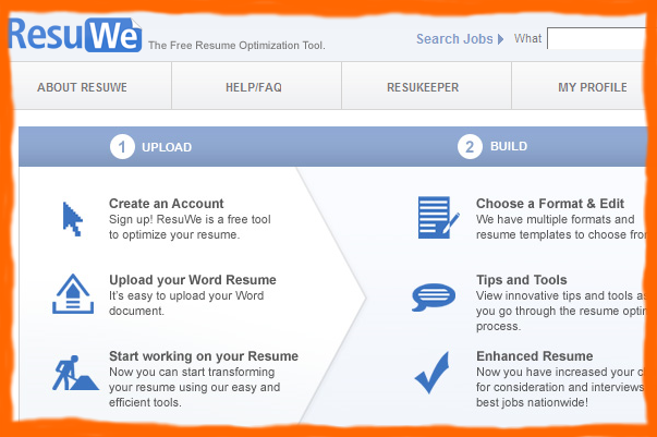 Free Resume Creator - ResuWe.com_1255545995979