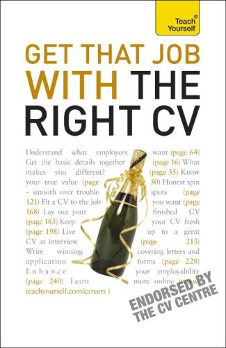 Get That Job With The Right CV – Julie Gray